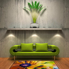 Eclectic Living Room by Rug Rats