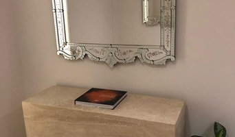 Custom made Murano glass mirrors from mobile phone photograph
