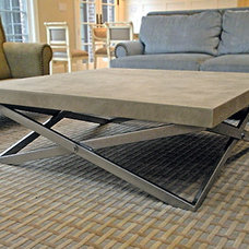 contemporary coffee tables by Trueform Concrete