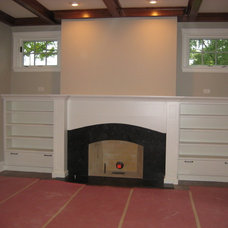 Traditional Living Room by Airhart Construction