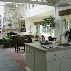 Traditional Living Room by Kitsap Kitchen & Bath Co.