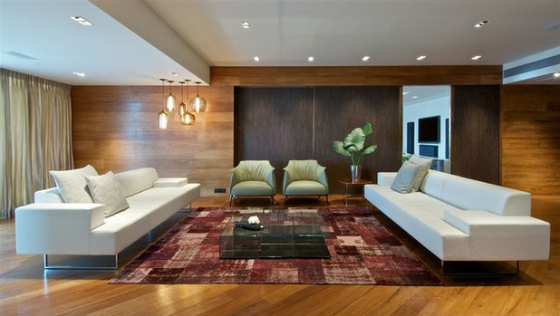 Modern Living Room by Niche Modern