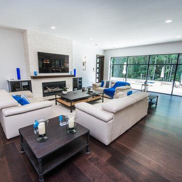 Custom Residence Design, 5200 Sq Ft., Contemporary Modern Deluxe