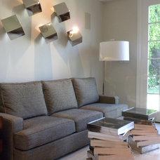 Contemporary Living Room by Donald Joseph Inc.