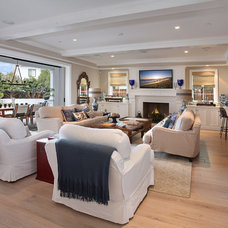 Traditional Living Room by Patterson Custom Homes