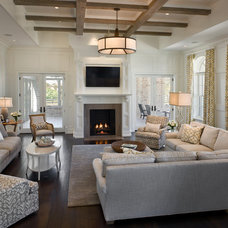 Contemporary Living Room by Zoltan Construction LLC