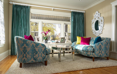 Fabric Focus: Dive Into Graphic, Soft Damask