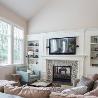 Fireplace Vaulted Ceiling | Houzz