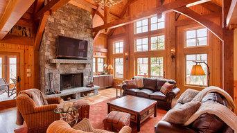 Custom Slopeside Ski Home