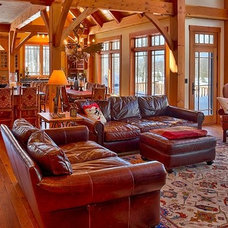Traditional Living Room by Loon Rustics LLC