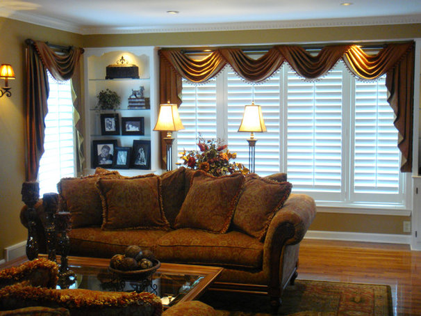 Traditional Living Room by One Stop Decorating Center
