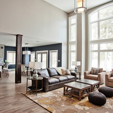 Transitional Living Room by Madison Taylor