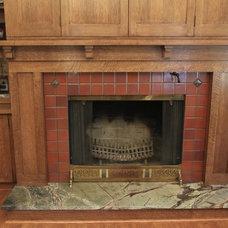 Craftsman Living Room by Re|Structure Design-Build, LLC