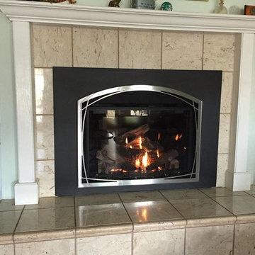 Customer Fireplace Installations