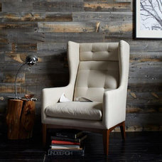 Rustic Living Room by Stikwood