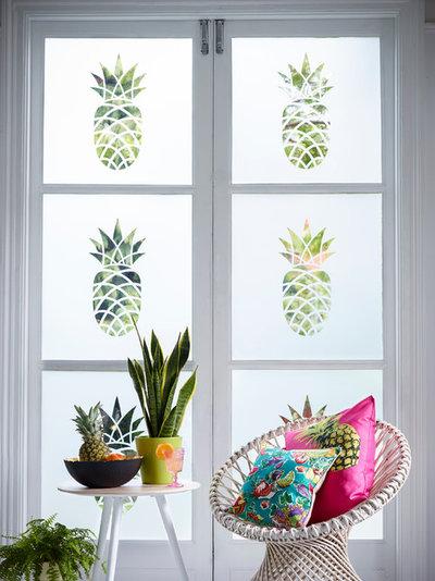 Tropical Living Room by The Window Film Company UK Ltd