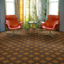 Dabbieri Collection - Featuring a shaded Moorish trellis pattern and produced with proprietary tufting technology, Proseria makes a statement of perfection. Proseria is constructed of 100% STAINMASTER® Luxerell™ BCF nylon for lasting performance.