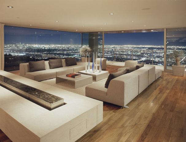 Modern Living Room by spfa.com