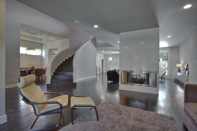 Contemporary Living Room by Austin Interior Renovations & Statewide Remodeling