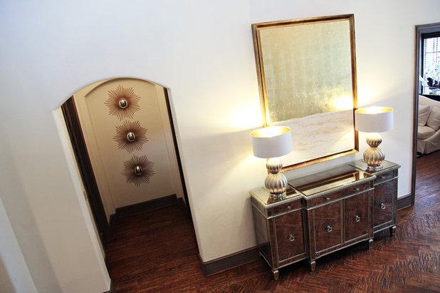 Contemporary Living Room by Emily Johnston Larkin