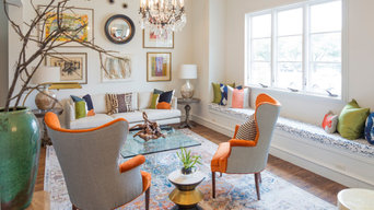Dallas Townhome Formal Sitting Room