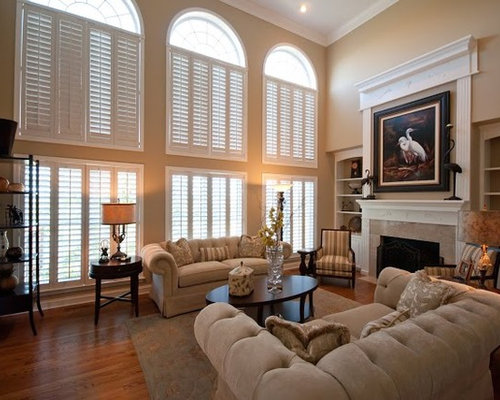 traditional living room idea in chicago - Hardwood Floors Living Room