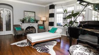 Dallas Transitional Home - by Faye Smith Interior Design