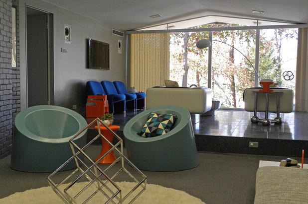 Midcentury Living Room by Sarah Greenman