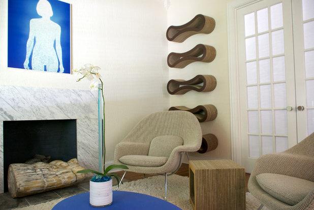 Modern Wohnbereich by Hilary Walker