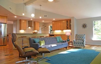 My Houzz: Resourcefulness Works for a Midcentury Remodel