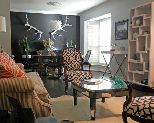 Dark Grey Accent Wall Design Ideas Amp Remodel Pictures Houzz