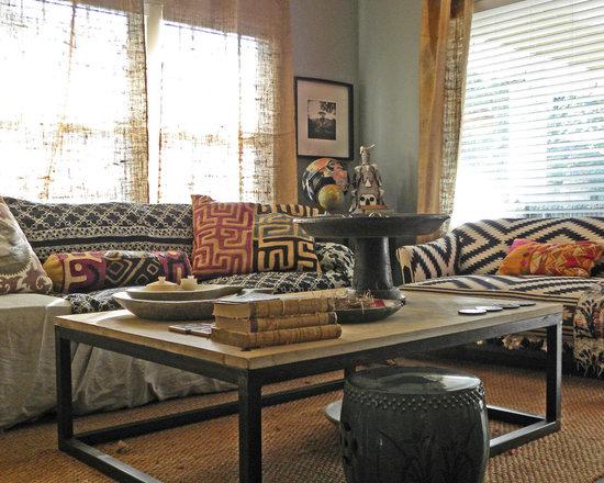 543 Primitive Living Room Design Photos