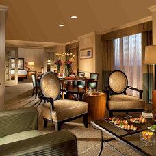 Contemporary Living Room by V B Designs, Inc.
