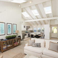 Midcentury Living Room by Sea Pointe Construction