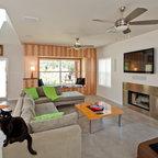 portfolio   contemporary   living room   orlando   by
