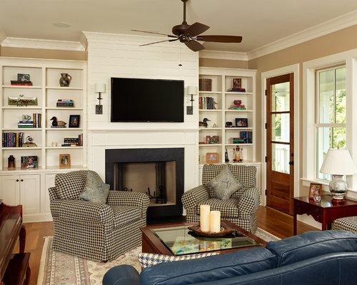 Save Photo - Custom Living Room Houzz