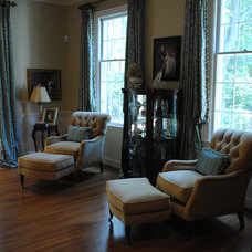 Traditional Living Room by House Dressing Interiors, LLC
