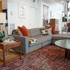 modern living room by Adrienne DeRosa