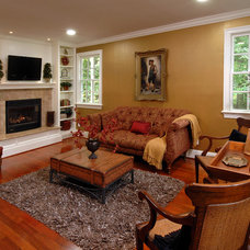 Traditional Living Room by Daniels Design & Remodeling