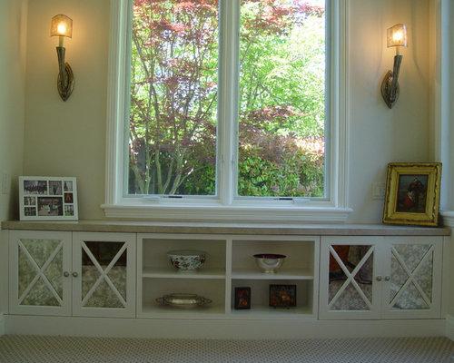 under window storage home design ideas pictures remodel On under window ideas