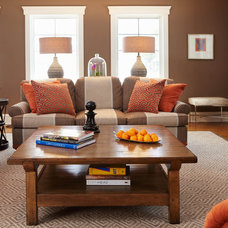 Traditional Living Room by Last Detail Interior Design