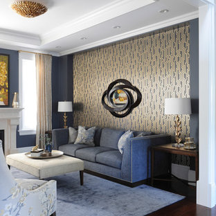 Gray Gold Living Room Ideas & Photos | Houzz