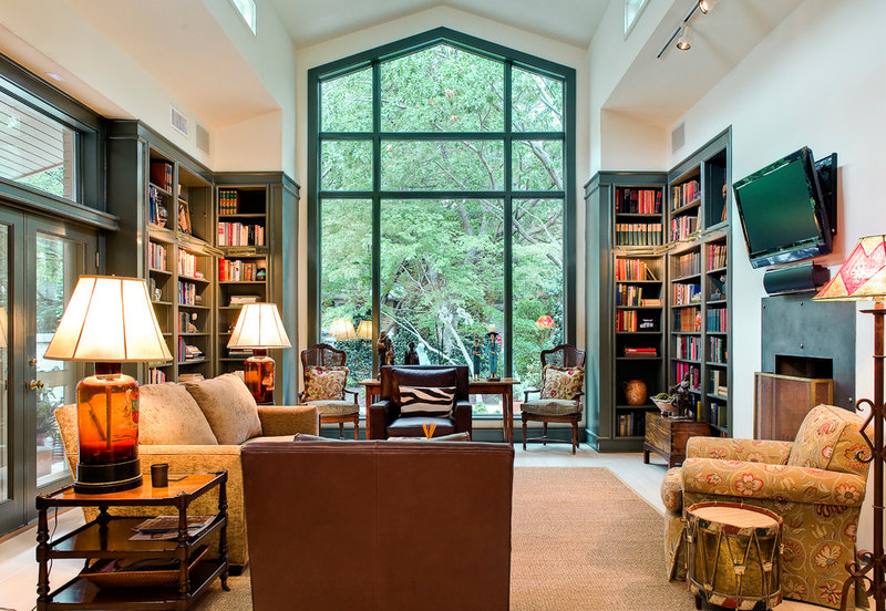 Traditional Living Room by Victor Myers Custom Homes  Real Estate