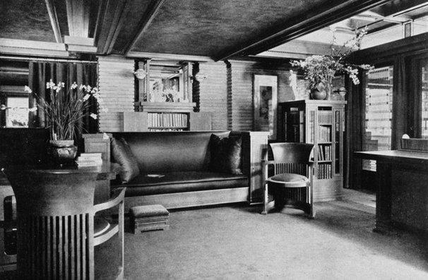 Modern Living Room Darwin D. Martin House