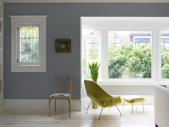 Modern Living Room by David  Duncan Livingston