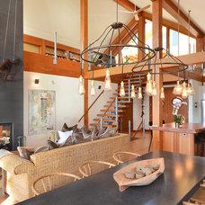 Contemporary Living Room by Streamline Design Ltd. - Kevin Simoes