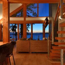 Modern Living Room by Streamline Design Ltd. - Kevin Simoes