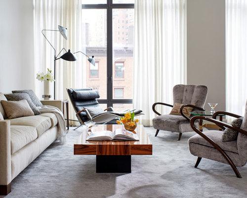 Midcentury Living Room Design Ideas, Remodels & Photos   Houzz