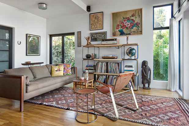 Scandinavian Living Room by risa boyer architecture