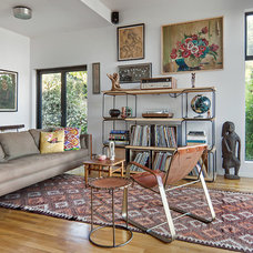 Eclectic Living Room by risa boyer architecture